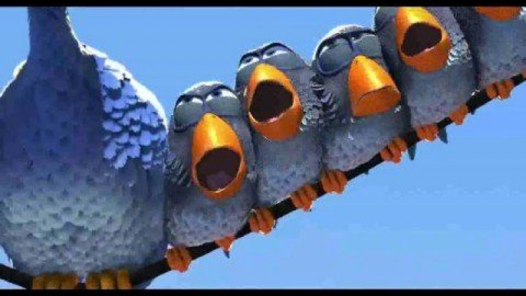 Pixar For the Birds
