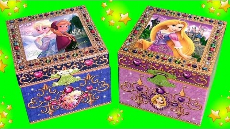 Frozen en Rapunzel Surprise Box